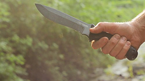 Schrade SCHF9 12.1in High Carbon Steel Fixed Blade Knife