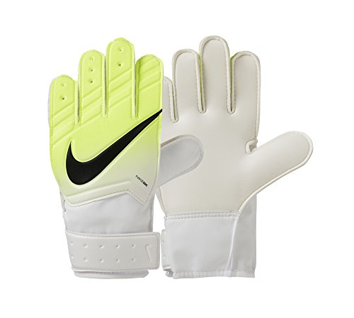 Nike Kinder Match Torwarthandschuhe, White/Volt/Black, 7