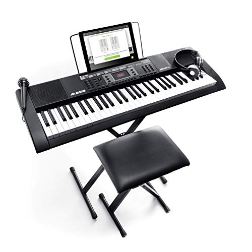 Alesis Melody 61 MKII - 61-Key Portable Keyboard with Built-In Speakers,...
