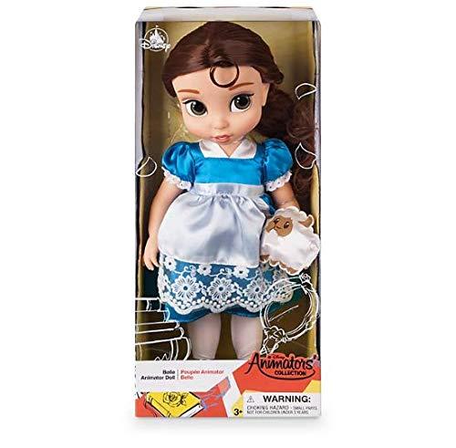 La belleza de Disney oficial y la bestia Belle Animator Doll