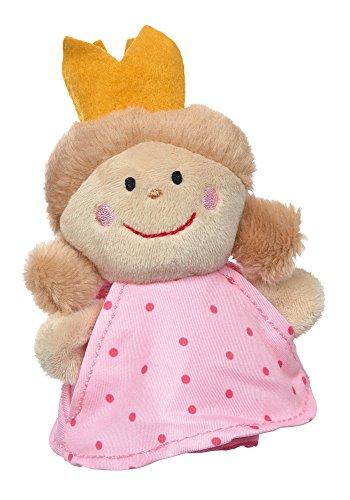 sigikid, Jungen und Mädchen, Fingerpuppe Prinzessin, Theaterpuppe, Rosa/Pink, 40375