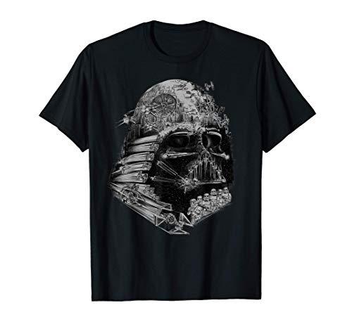 Star Wars Darth Vader Build The Empire Graphic T-Shirt T-Shirt