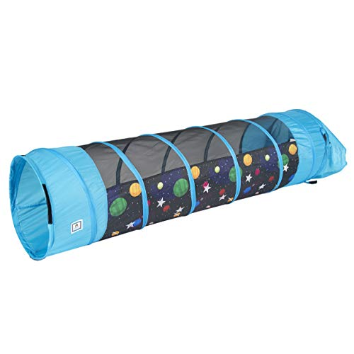 Product Image of the Pacific Play Tents 41410 Kids Galaxy 6 Foot Crawl Tunnel w/Glow in the Dark...