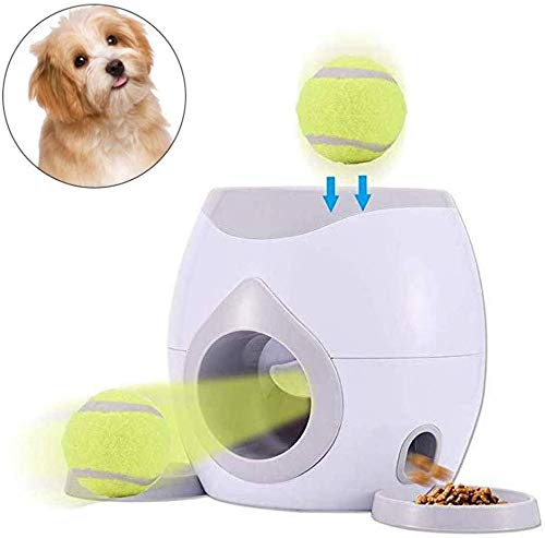 FOONEE Automatic Ball Launcher Pet Dog Toy,Interactive Tennis Ball Throwing...