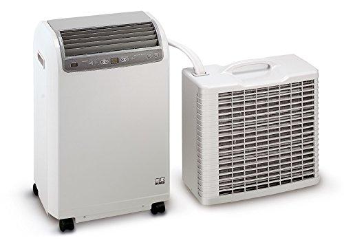 Remko RKL 491 DC Split - Acondicionador de aire para habitaciones con 120m³ capacidad de refrigeración 4,3 Kw, White