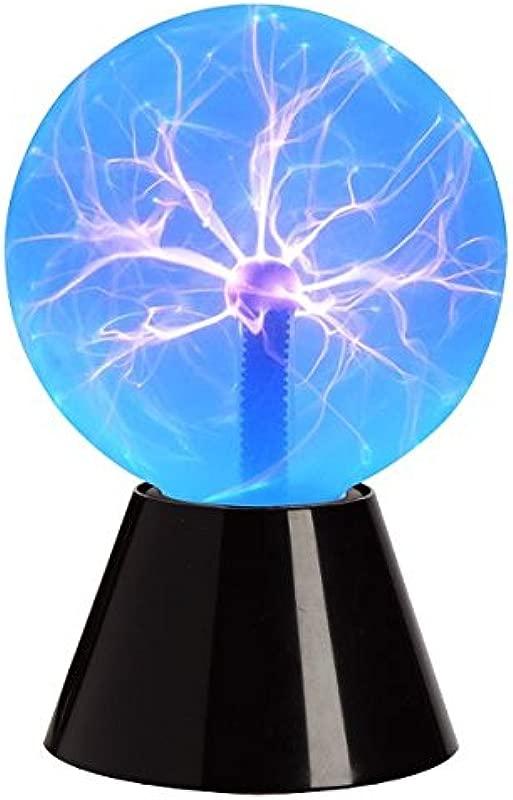 Tradeopia Corp Plasma Ball Touch Sensitive Decoration Lightning 6 Blue