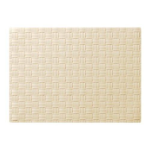 Ikea Ordentlig 101.756.74 - Mantel Individual (Tamaño 18x13), Color Blanco