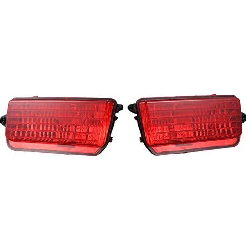 WPFC Hinten Rücklicht Auto Nebelscheinwerfer Fernscheinwerfer 55156102AA 55156103AA Für Jeep Grand Cherokee 2005-2009, 2Stk