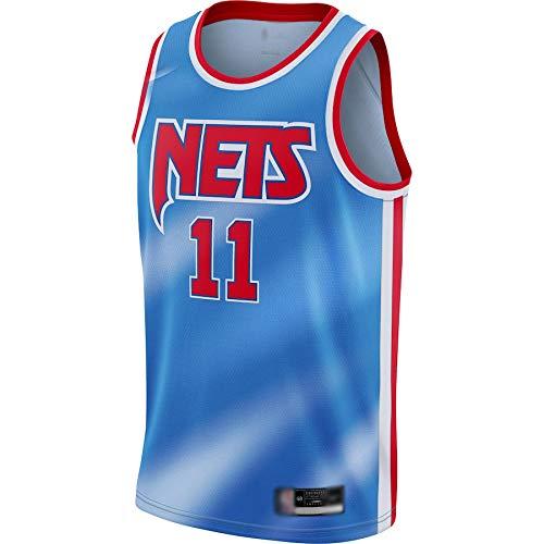 Camiseta de baloncesto al aire libre NO.11 Jersey Azul Secado Rápido Sudadera Para Hombres Edición Clásica