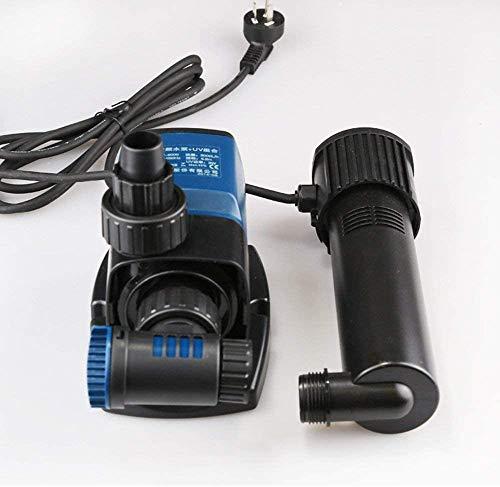 BinBin Silent Water Pump Sterilisation Lampe entfernen Grünalge Energiespartauchpumpe Aquarium Pump,9000L/H