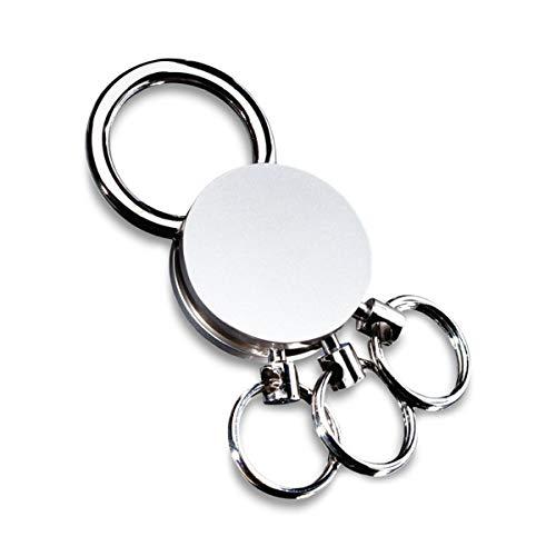 REFLECTS Schlüsselanhänger mit mehreren abnehmbaren Ringen MULTI Silber, Metall