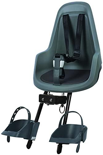 Bobike GO Mini Kindersitz Macaron Grey 2021 Fahrrad-Sitz Kinder Jugendliche Rad-Sitz