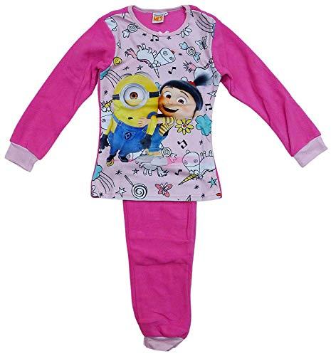 Mädchen Despicable Me Minions Einhorn Polar Fleece Pyjama Größen Von 3 Sich 8 Jahre - Rosa, 6 Years