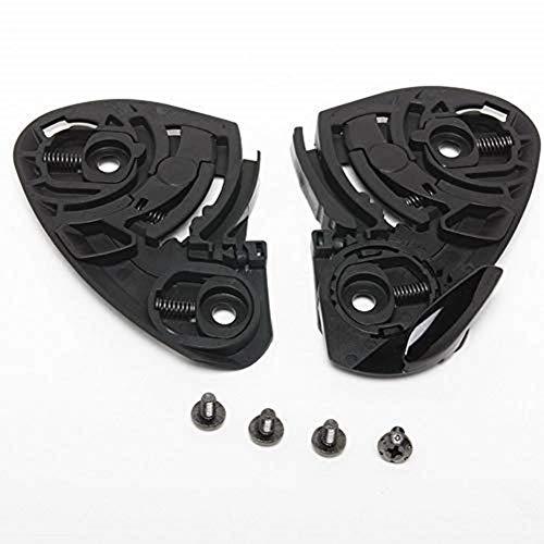 Shoei CX mécanique de 1 V avec Set de vis Compatible avec le casque Shoei x de Spirit/1000 Raid II/XR