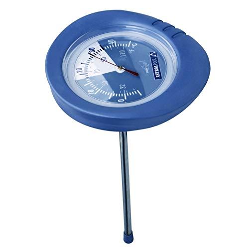 LordsWorld - Astralpool - Shark Serie analógico Termómetro Piscina - Piscina Temperatura del medidor de Temperatura del Agua termómetros - Tester - 36622- Shark