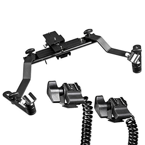Walimex Macro 17882 - Soporte con Cable Extensible de Flash para Modelo Sony
