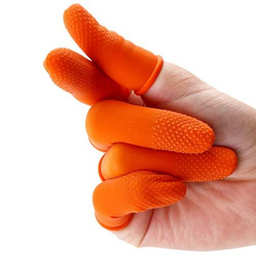 Guanti Guanti monouso 100PCS guanti in nitrile spessi protettori impermeabili e durevoli per lavare il personale di emergenza in bellezza