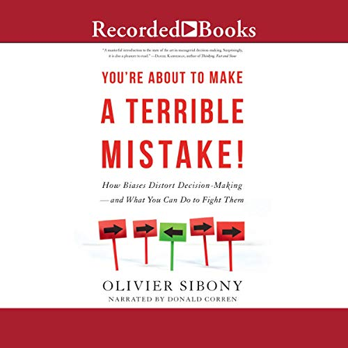 You're About to Make a Terrible Mistake! cover art