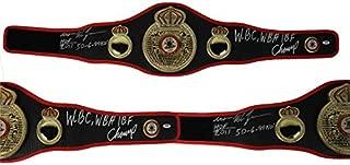 mike tyson signed wbc belt