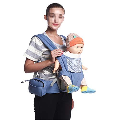 DHCY Babytrage Ergonomie Stillen Tragetuch tragend tragbare atmungsaktive einstellbare Sicherheit für Kinder mit Vier Jahreszeiten, 3-36 Monate,Green