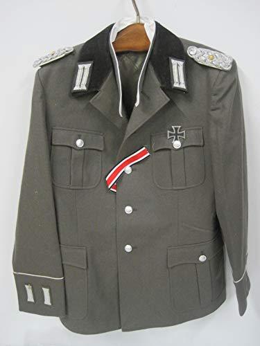 NVA Uniform-Jacke ähn.Wehrmacht Eisernes Kreuz Effekten Ordensband
