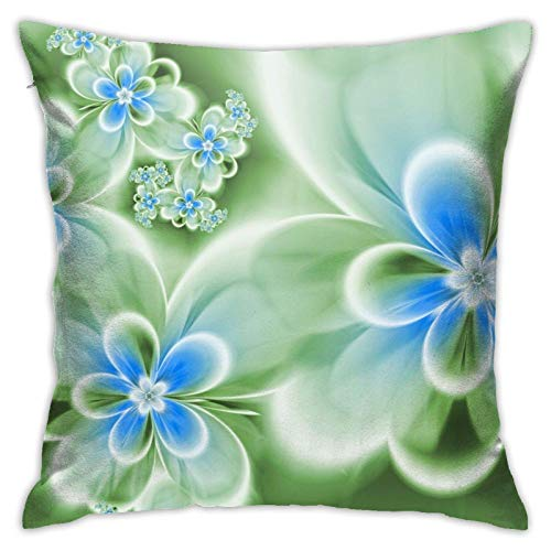 lihuang Throw Pillows Peach Pillow Covers Pillowcase for Couch Decorative Square 18 X 18 Inch