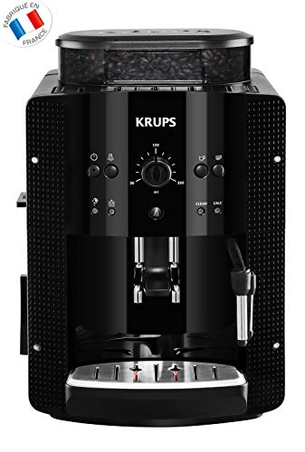 KRUPS ESSENTIAL NOIRE Machine à café à grain Machine à...