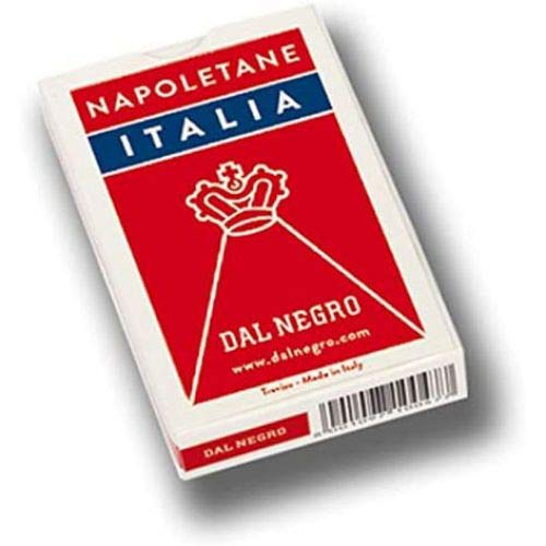 Dal Negro Carte da Gioco Napoletane Astuccio Rosso - Plastica