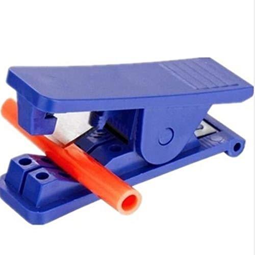 WUSYO Schlauch Schlauch Umkehrosmose Werkzeug Wasserfilter Filter Nylon Kunststoffschere, blau