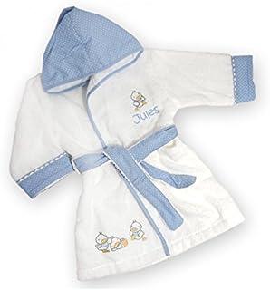 d81d21a91e867 Vanevitch Peignoir bébé Canards personnalisé avec Le prénom de l enfant
