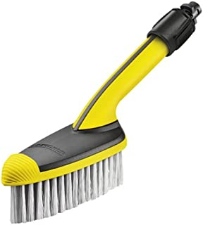 Karcher Universal Soft Brush - Pressure Washer Accessory, Yellow, Black