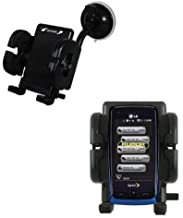 Windshield Vehicle Mount Cradle Suitable for The LG Rumor Touch - Flexible Gooseneck Holder with Suction Cup for Car/Auto.