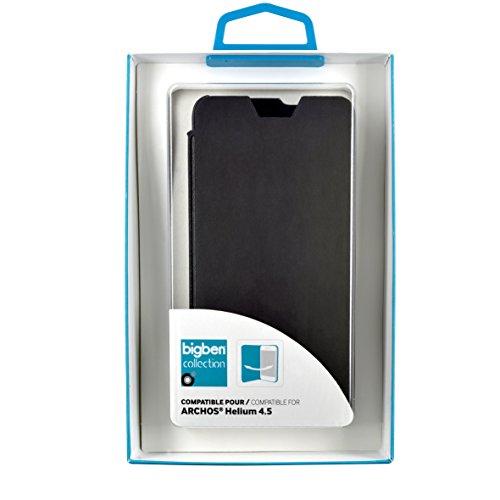 BLUEWAY etuifnbarch45hmf–Funda Folio para Smartphone Negro