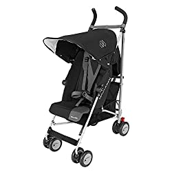 Umbrella Stroller With Canopy And Storage Pocket