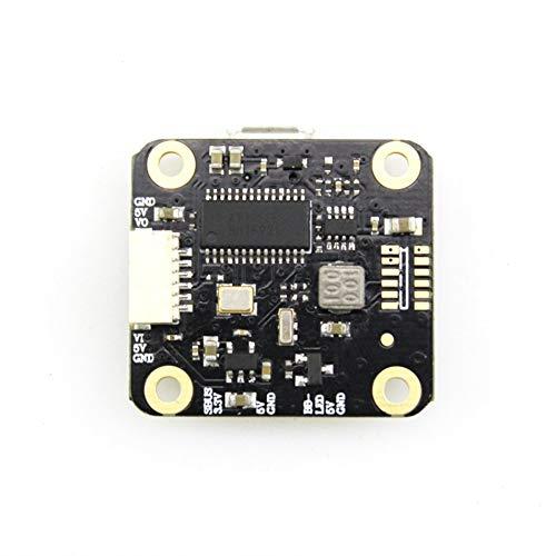 Silverdrew Controlador de Vuelo HAKRC Mini F3 OSD 2A BEC 2-4S MPU6000 TX1 RX1 para RC Drone FPV Racing Accesorios de Piezas