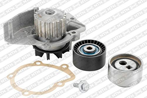 SNR Wasserpumpe + Zahnriemensatz Wapu Pumpe Zahn Riemen Antriebsriemen Antriebsstrang Kühlmittel Kühlmittelpumpe Kühlmittelkreislauf KDP459.510