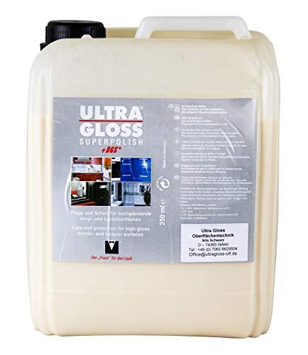 Ultra Gloss Superpolish + DGS Durable Gloss Sealant Küchenpolitur Möbelpolitur Langzeitversiegelung Küchen Politur 5 Liter