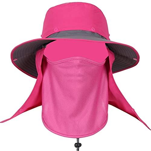 Sombrero de Verano de Safari Al Aire Libre Ancho con Cuello de Abrigo de Cuello; Protección Del Sol (Tamaño: 50-60 cm jardinería/D
