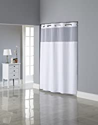 Gift for cancer patient hookless shower curtain