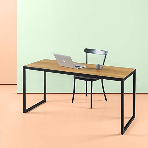 Zinus Jennifer Modern Studio Collection Soho/ Schreibtisch/ Tisch/ Computerschreibtisch/ Rechteckiger Esstisch/ Table-in-a-Box/ Natur Finish/ 160 x 60.1 cm