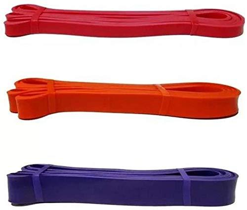 Elástico Extensor para Exercícios, 208cm, 3 peças