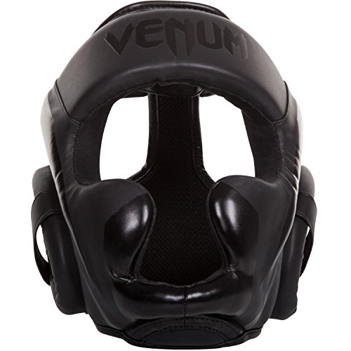 Venum Elite Headgear, Matte/Black