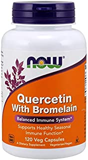 Quercetin with Bromelain - 120 Vegetarian Capsules by NOW