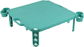 Portable Folding Camping Table Mini Collapsible Foldable Picnic Ethylene Table Light Compact for Camping, Picnic, Outdoor,...