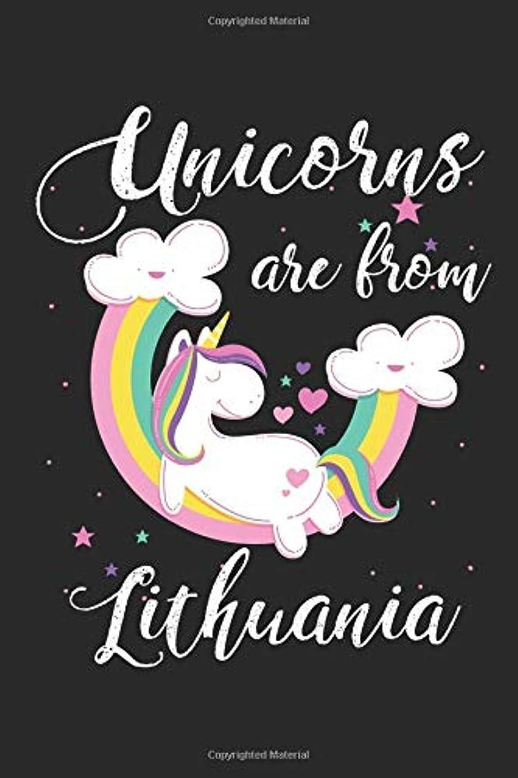 マカダムハブ愛情深いUnicorns Are From Lithuania: A Blank Lined Unicorn Journal for Travelers or People From Lithuania, Makes a Great Lithuania Gift, Lithuania Journal, Or Lithuania Souvenir