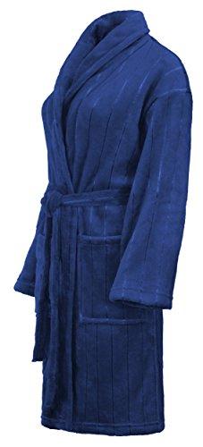 Peignoir Robe de Chambre/Peignoir de Sauna Hommes/Femmes exclussif - Bleu - S de Brandsseller