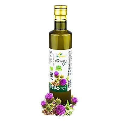 Certified Organic Cold Pressed Milk Thistle Seed Oil 500ml Biopurus by Austria