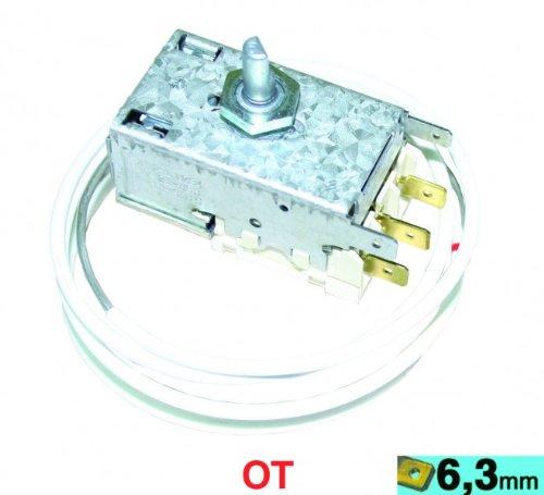 Thermostat K59-L1234 Ranco, OT! Kühlthermostat für 3-Sterne-Kühlschränke mit automatischer Abtauung