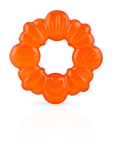 Nuby 671 Sucette Kool géométrique eau de dentition Pack 3 - Les couleurs peuvent varier