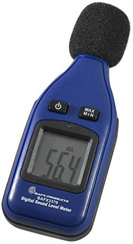 BAFX Products - Decibel Meter/Sound Pressure Level Reader (SPL) / 30-130dBA Range - 1 Year Warranty (Standard)